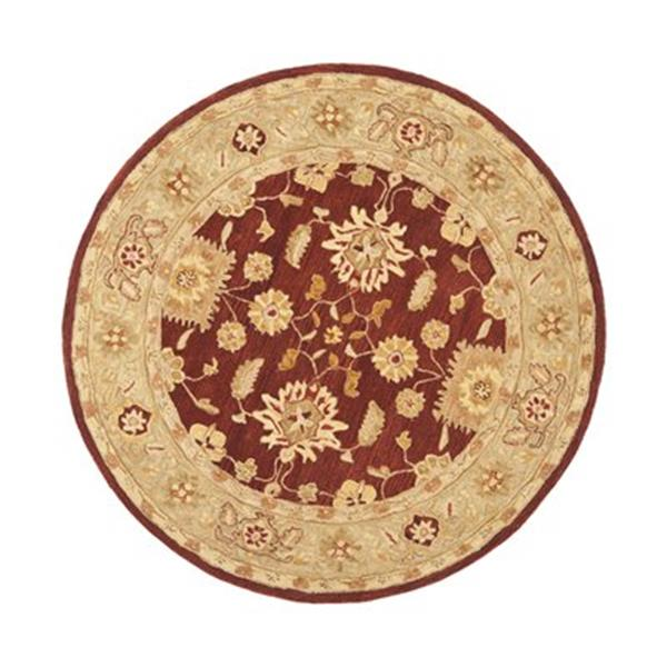 Safavieh Anatolia Red and Sage Area Rug,AN556F-6R