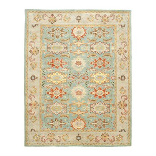 Safavieh Heritage Light Blue and Ivory Area Rug,HG734A-220