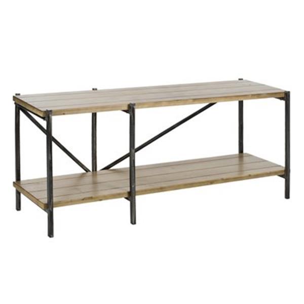 Safavieh Waldo Rectangular Natural Fir Console Table