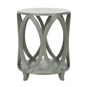 Safavieh Janika 24.5-in Ash Grey Elm Accent Table