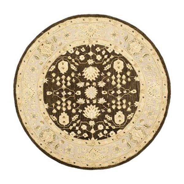 Safavieh AN564A Anatolia Area Rug, Chocolate / Ivory,AN564A-