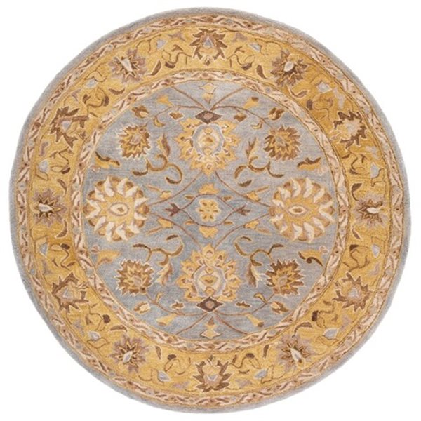 Safavieh AN580G Anatolia Area Rug, Blue / Green,AN580G-6R