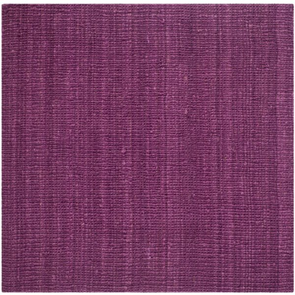 Safavieh Natural Fiber Purple Area Rug,NF447B-8SQ