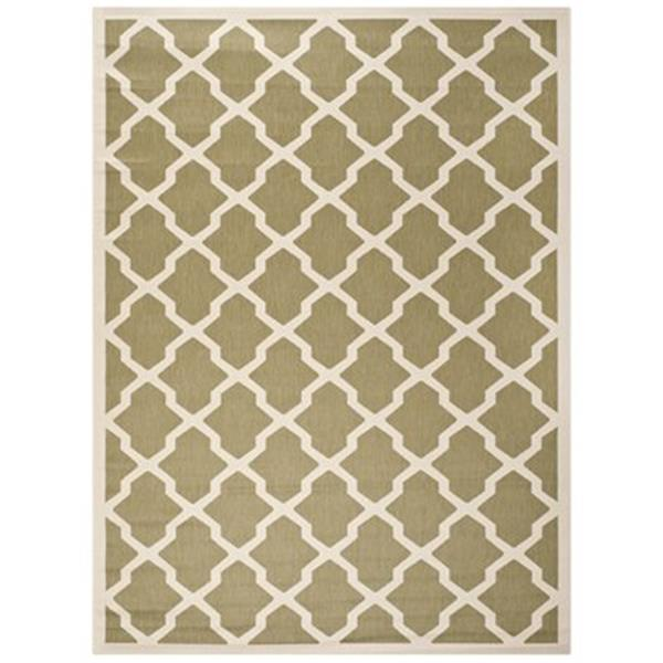 Safavieh Courtyard Green and Beige Area Rug,CY6903-244-8