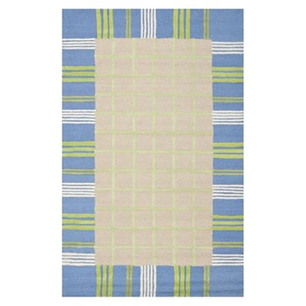 Safavieh Kids Taupe and Blue Area Rug,SFK320A-5
