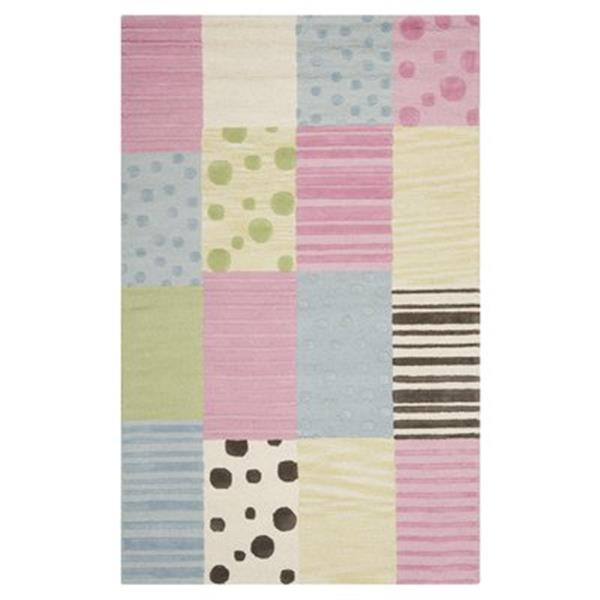 Safavieh Kids Blue and Pink Area Rug,SFK322A-5