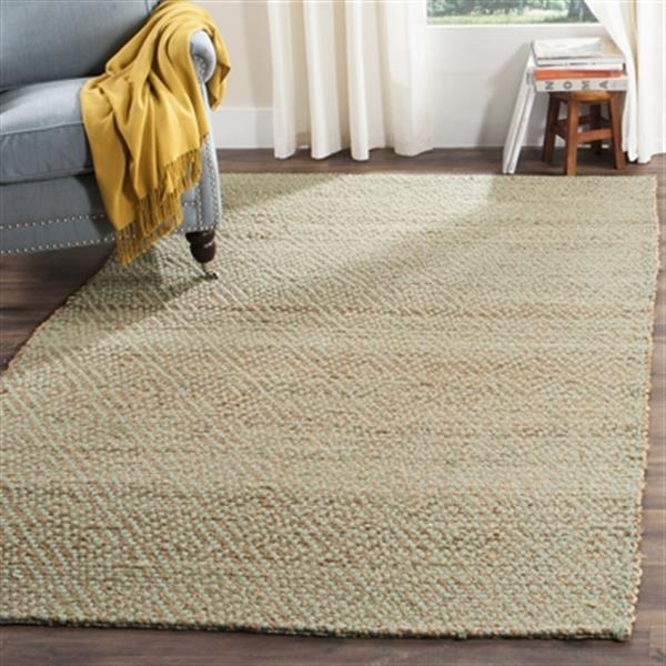 Safavieh Natural Fiber Natural and Green Area Rug,NF453A-6