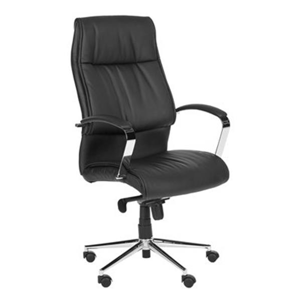 Safavieh 50.4-in Black Fernando Desk Chair