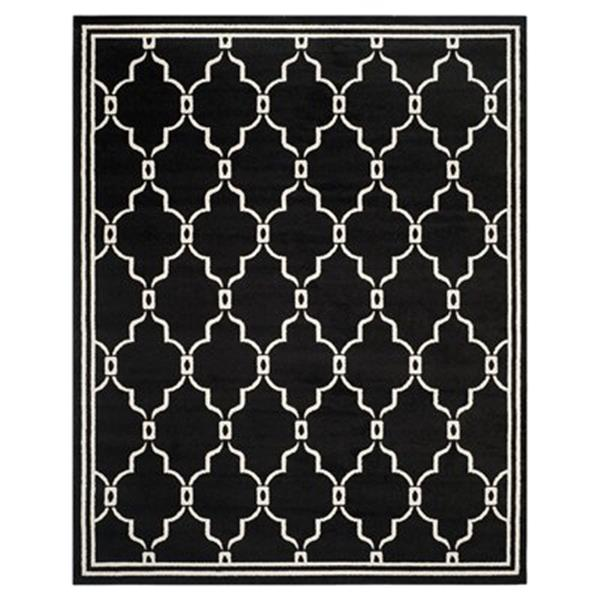 Safavieh Amherst Anthracite and Ivory Area Rug,AMT414G-8