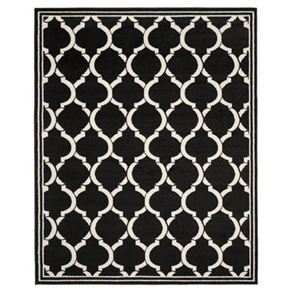 Safavieh Amherst Anthracite and Ivory Area Rug,AMT415G-8