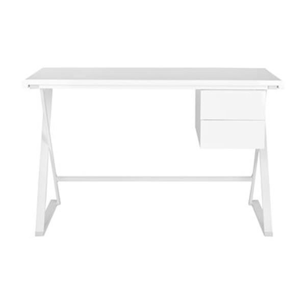 Safavieh Fox 19.6-in x 39.3-in White/White Watkins Desk
