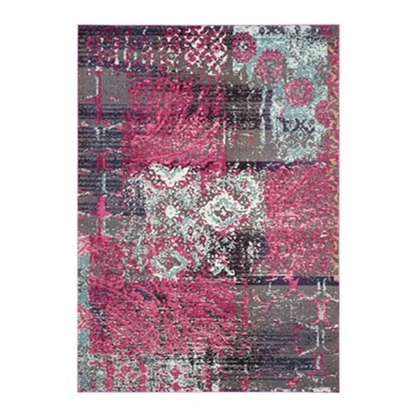Safavieh Monaco Pink Multicolor Area Rug,MNC210D-6