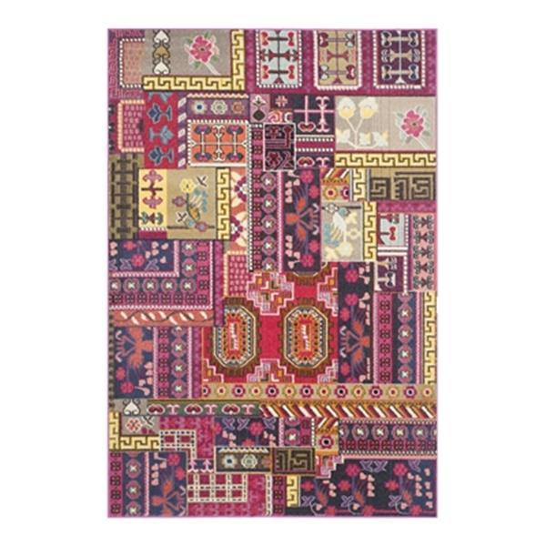 Safavieh Monaco Pink Multicolor Area Rug,MNC212D-6