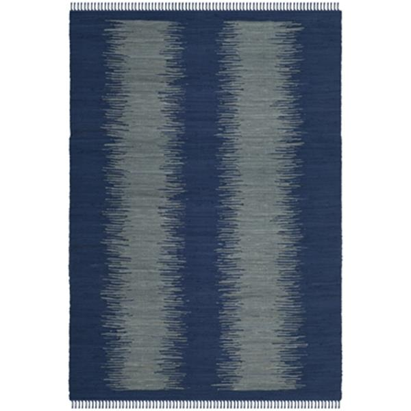 Safavieh Montauk Flat Weave Navy Area Rug,MTK718H-8