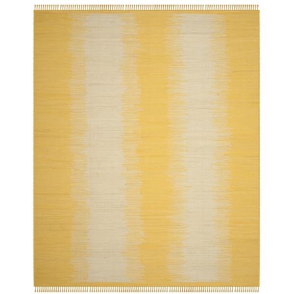 Safavieh Montauk Flat Weave Gold Area Rug,MTK718K-8
