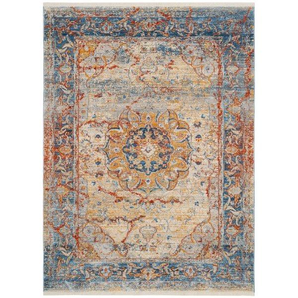Safavieh Vintage Persian Blue Multicolor Area Rug,VTP435B-6