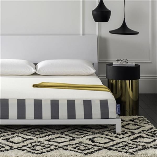 Safavieh 75-in x 38-in Embrace 8-in Luxury Foam Dream Mattress