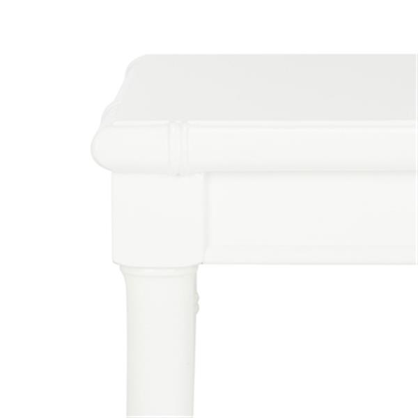Safavieh Liviah 22-in White Accent Table