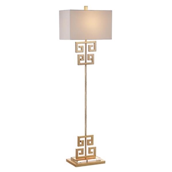 Safavieh 62-in Gold Sauna Floor Lamp