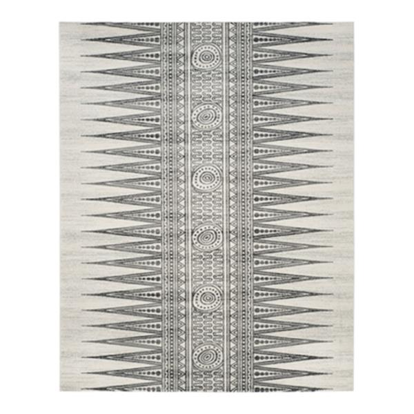 Safavieh Evoke Ivory and Grey Indoor Area Rug,EVK226D-8