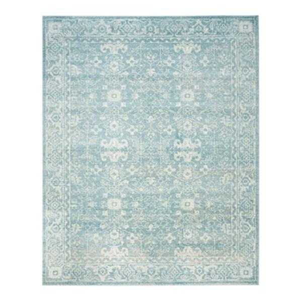 Safavieh Evoke Light Blue and Ivory Indoor Area Rug,EVK270D-