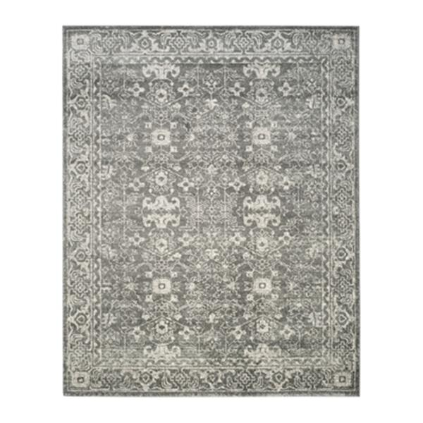 Safavieh Evoke Grey and Ivory Indoor Area Rug,EVK270S-8