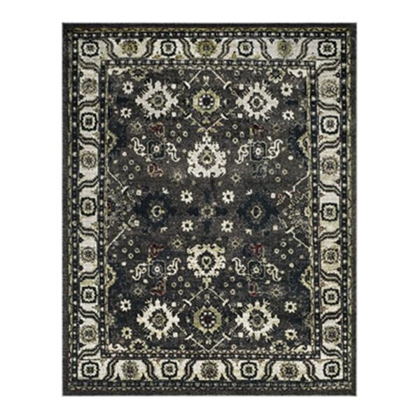 Safavieh Vintage Hamadan Dark Grey and Ivory Indoor Area Rug