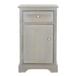 Safavieh Jerome 30.1-in French Grey End Table