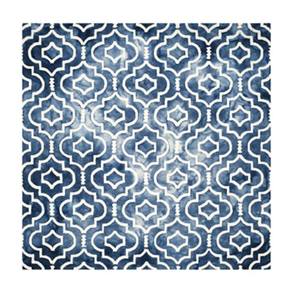 Safavieh Dip Dye Hand-Tufted Wool Navy and Ivory Area Rug,DD