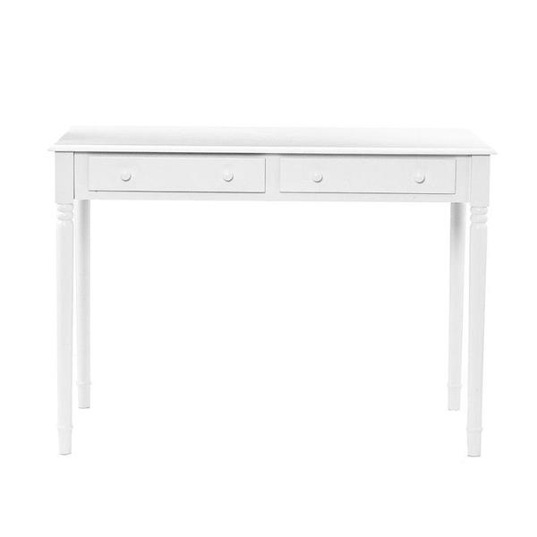 Boston Loft Furnishings 30-in x 42.5-in White Writing Desk