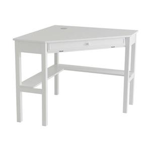 Boston Loft Furnishings Alcott White Corner Desk