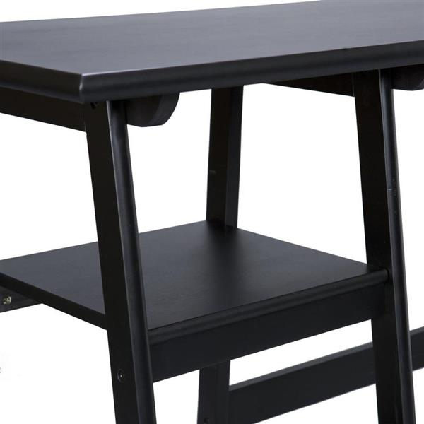 Boston Loft Furnishings Langston Black Computer Desk