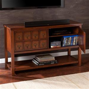 Boston Loft Furnishings Arcadia Brown Mahogany TV Cabinet