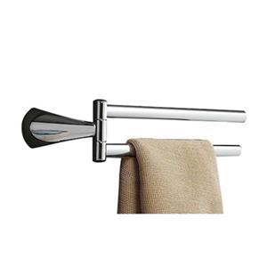 Nameeks Kor 15-in Double Chrome Double Towel Bar
