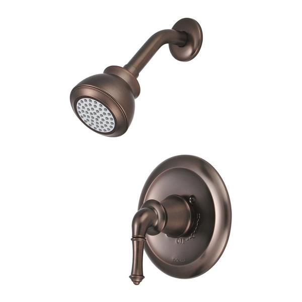 Pioneer Industries Del Mar Oil-Rubbed Bronze 1 Handle Shower Faucet