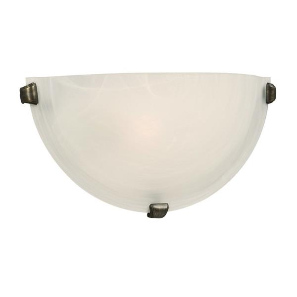 Galaxy 16.12-in W 1-Light Oil-Rubbed Bronze Pocket Wall Sconce
