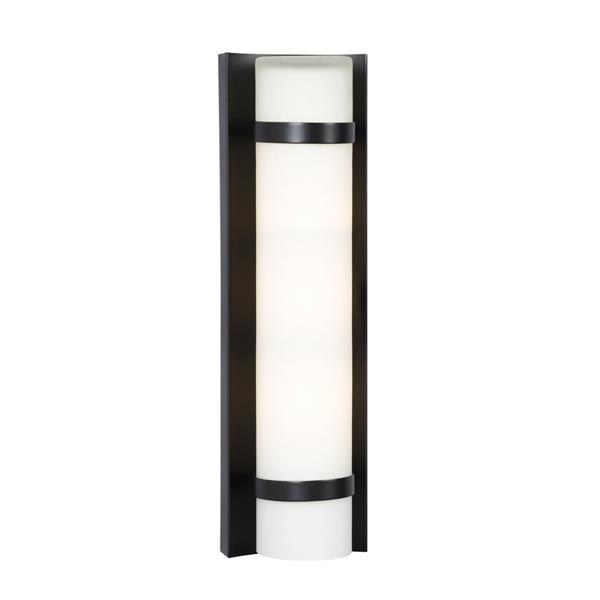Galaxy 4.25-in W 1-Light Bronze Modern/Contemporary Hardwired Standard Wall Sconce