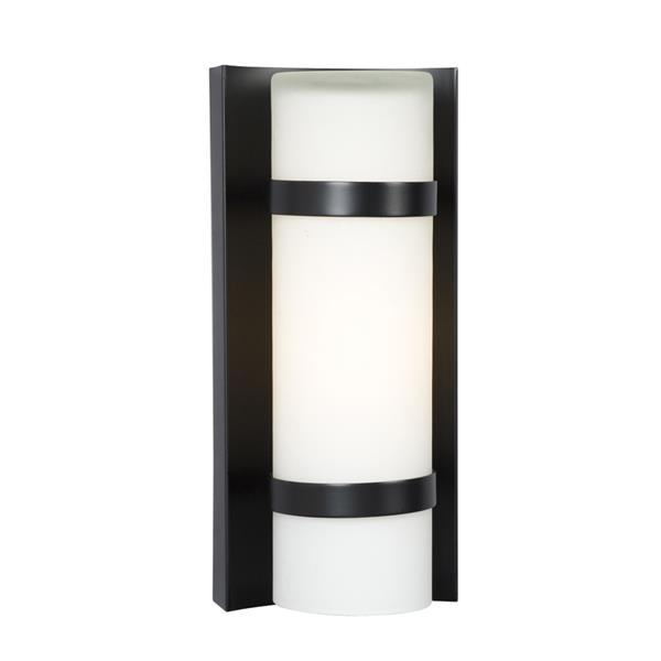 Galaxy 4.37-in W 1-Light Bronze Modern/Contemporary Hardwired Standard Wall Sconce