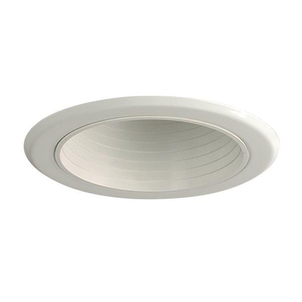 Galaxy Baffle 5-in White Recessed Lighting Trim