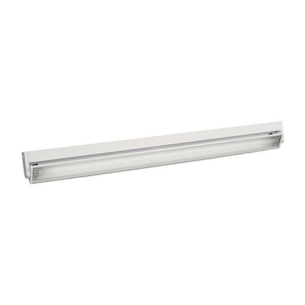 Galaxy 36-in White Under Cabinet Fluorescent Light Bar