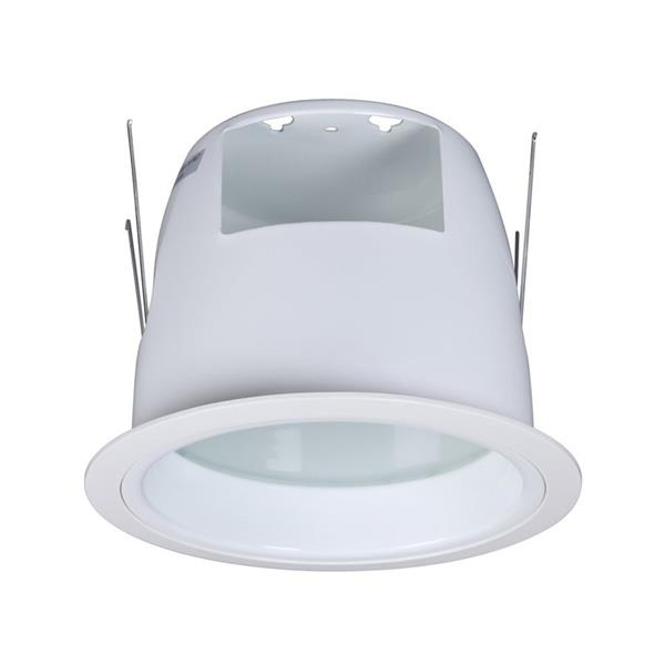 Galaxy Shower 6-in White Recessed Lighting Trim