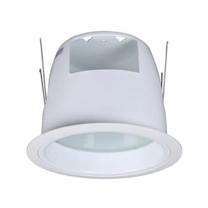 Galaxy Shower 6-in White Recessed Lighting Trim