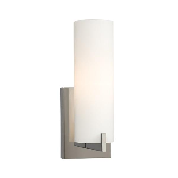 Galaxy Kona 4.25-in x 11.50-in 1 Light Chrome Cylinder Vanity Light