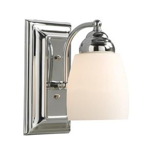 Galaxy Barclay 4.5-in W 1-Light Polished Chrome Arm Wall Sconce