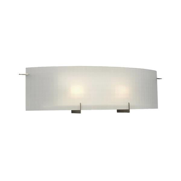 Galaxy Omni 24-in x 6.75-in 1 Light Pewter Rectangular Vanity Light Bar