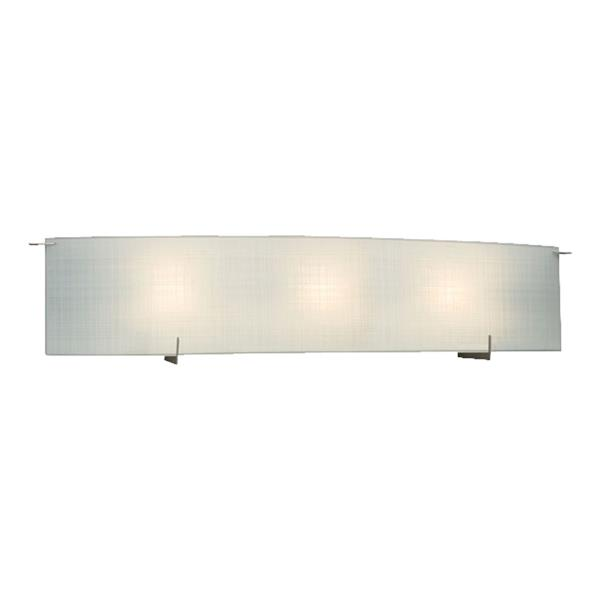 Galaxy Omni 7-in x 32.62-in 1 Light Pewter Rectangle Vanity Light Bar