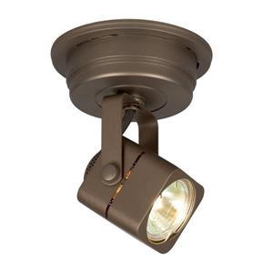 Galaxy 4.75-in Bronze 1-Light Flush Mount Fixed Track Light Kit
