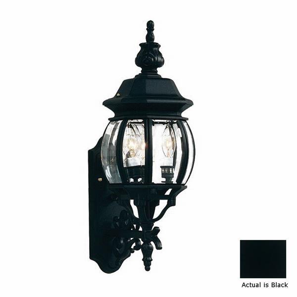 Artcraft Lighting Classico 22.50-in x 8-in Black Outdoor Wall Light