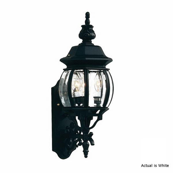 Artcraft Lighting Classico 22.50-in x 8-in White Outdoor Wall Light