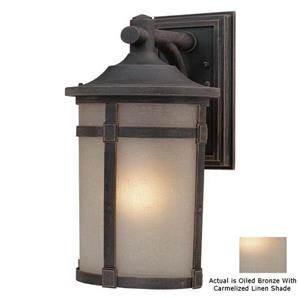 Artcraft Lighting St Moritz 15.75-in x 9.50-in Oil-Rubbed Bronze Outdoor Wall Light